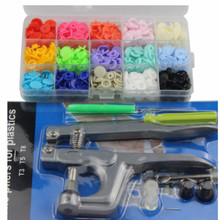 T5 resin buttons 12MM snap button plastic snaps plastico fastener + INSTALL TOOL FREE SHIPPING