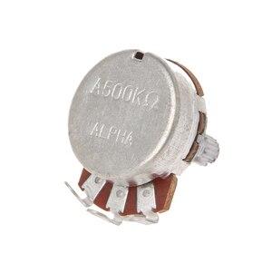 Гитарные потенциометры A500K OHM, аксессуары, аудио Горшки, потенциометры, 24 мм основание, замена для электрической гитары, Прямая поставка