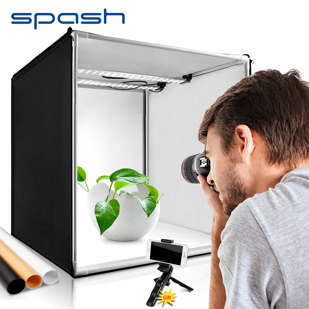 spash M40II Portable Light Box Photography Soft Box 40cm CRI95 LED Light Tent Photo Studio for Jewelry Toy Product Take Picture