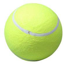 24cm Tennis Ball For Pet Chew Toy Big Inflatable Tennis Ball Mega Jumbo Pet Toy Ball