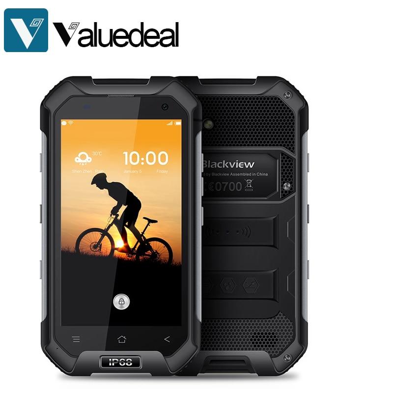 "Цена за Оригинал BLACKVIEW BV6000 4G LTE Водонепроницаемый IP68 MT6755 4.7 ""HD Окта основные Android 6.0 3 ГБ RAM 32 ГБ ROM 13.0MP Мобильного Телефона"