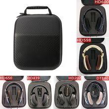 Headphone Case Cover Headphone Protection Bag Cover TF Cover Earphone Cover for Sennheiser HD598 HD600 HD650 Headphones Earphone