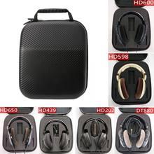Étui pour écouteurs Sennheiser HD598 HD600 HD650, housse de Protection TF pour écouteurs