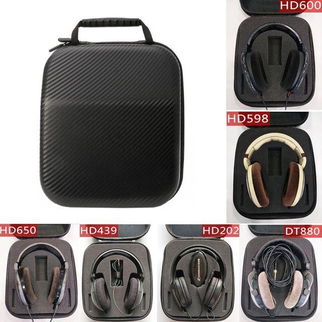 אוזניות מקרה כיסוי תיק הגנת אוזניות כיסוי TF כיסוי אוזניות כיסוי עבור Sennheiser HD598 HD600 HD650 אוזניות אוזניות