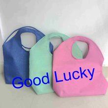 6bf850738321f 10 adet/grup ücretsiz kargo 3 renkler karışık Jüt alışveriş tote çanta  monogrammed kişiselleştirilmiş kaliteli plaj çantası yaz .