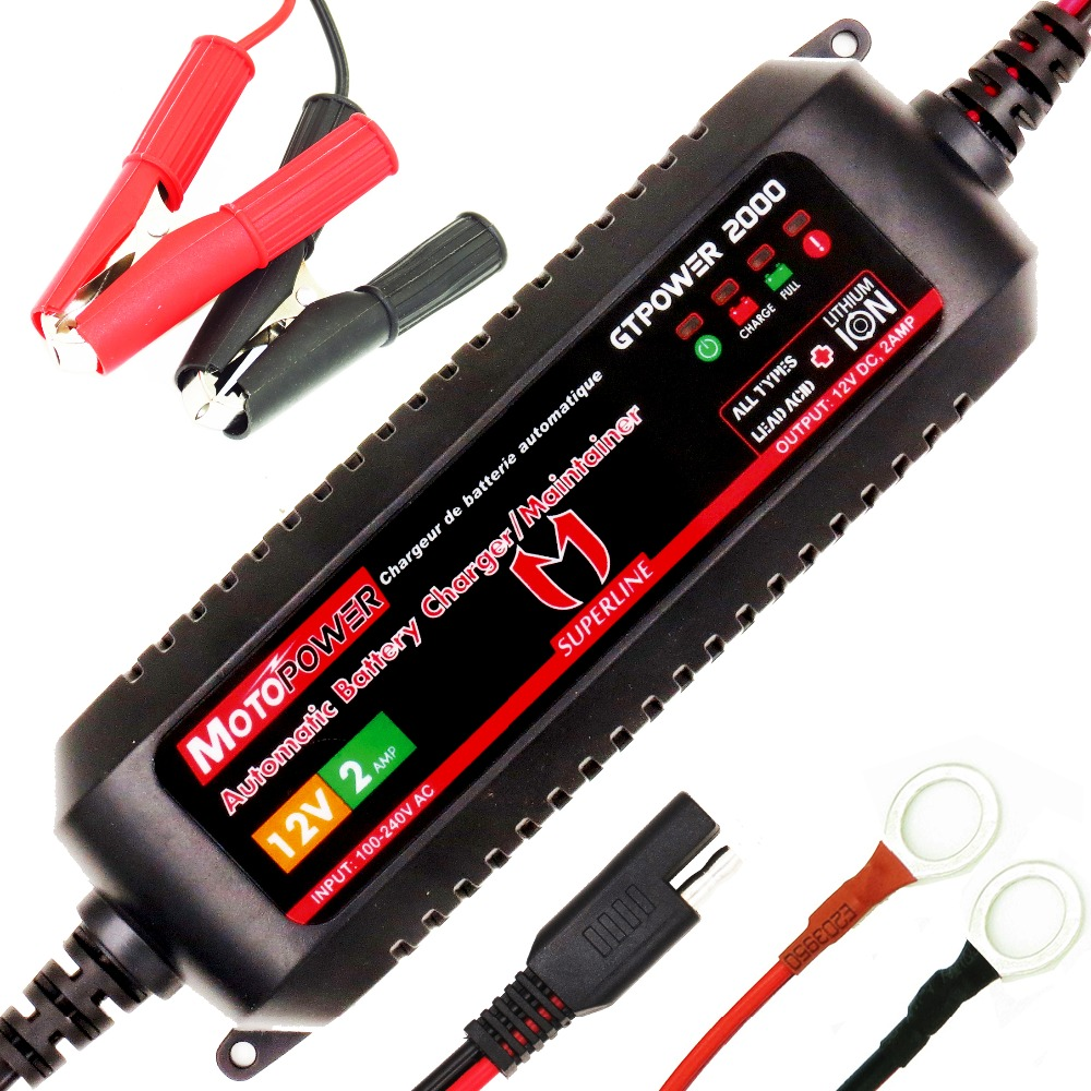 Smart Automatic Battery Charger for Kia Picanto Inteligent 5 Stage