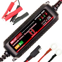 12V 2AMP Automatic Smart Battery Charger Maintainer For Both Lead Acid Batteries And Lithium Ion Batteries