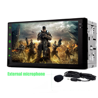 2din 7 Inch Android 6 0 HD Full Touch Screen Quad Core Car DVD No Player