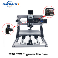 CNC 1610 Machine 3 Axis Engraving Machine Mini DIY PCB Milling Machine Wood Carving Laser Engraver ER11 Router With GRBL Control