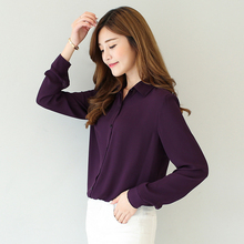Casual Solid Color Blouses And Shirts
