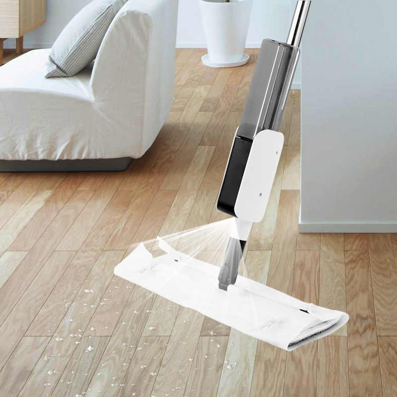 Congis حار بيع المياه ممسحة رشاشة مع ستوكات سادة تدوير الغزل ممسحة للمنزل الطابق تنظيف أدوات المطبخ نظيفة