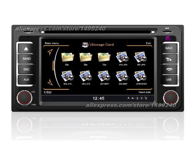 Pour Toyota Voltz 2002 ~ 2004-système de Navigation GPS de voiture + Radio TV DVD iPod BT 3G WIFI HD système multimédia d'écran