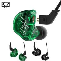Original KZ ZSR In Ear Earphone Balanced Armature With Dynamic 2BA 1DD Unit Noise Cancelling Headset
