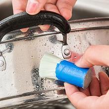 Щетка для чистки, волшебная палочка из нержавеющей стали, волшебная палочка для удаления ржавчины, полезные кухонные инструменты для чистки, щетка для мытья, щетка для протирания, горшок