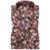 Nueva Primavera 2016 Mens Casual Camisas Florales de Manga Larga 100% algodón Ropa de la Marca Impreso Más El Tamaño de Vestido de Los Hombres Camisa Delgada ajuste