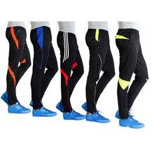Штаны для футбола, мужские спортивные тренировочные штаны, летние детские штаны для бега, тонкие дышащие, размер XXS-4XL