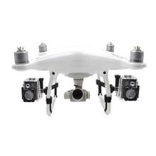 Dla DJI Phantom 4 Pro + Drone Kit Side rozszerzony suport LED zaczep na lampę dla DJI Phantom 4 Pro Adv statyw dla Gopro