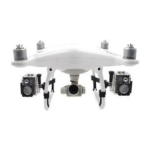 Image 1 - Pour DJI Phantom 4 Pro + Drone Kit support latéral étendu support de lumière LED pour DJI Phantom 4 Pro Adv support de caméra pour Gopro