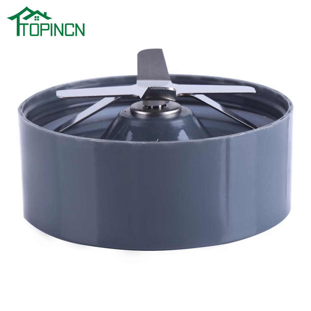 TOPINCN 600/900 W Substituição Cruz Base de Lâmina de Aço Inoxidável Se Encaixa para Liquidificador NutriBullet Extractor Espremedor de Substituição Faca
