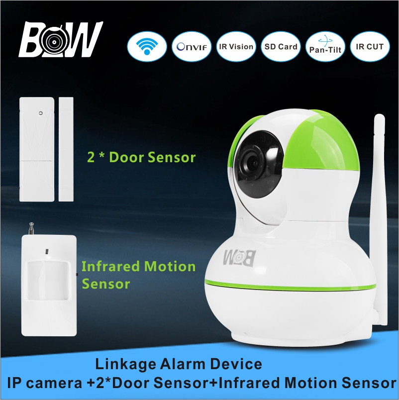 BW Smart Network Wireless font b Camera b font IP Security Alarm System 2 font b