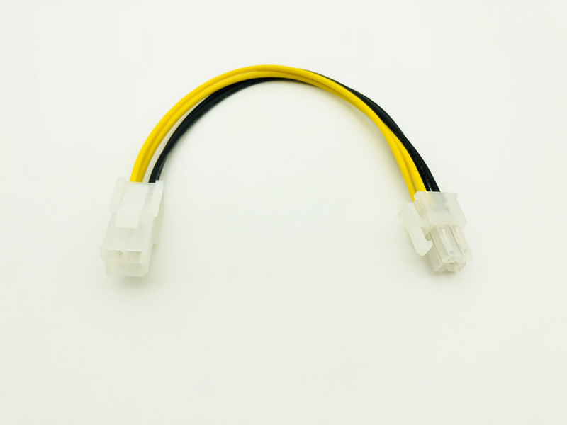 5x 8inch//20cm ATX 12V 4 Pin to 4 Pin P4 CPU Power Extension Cable Power Supply