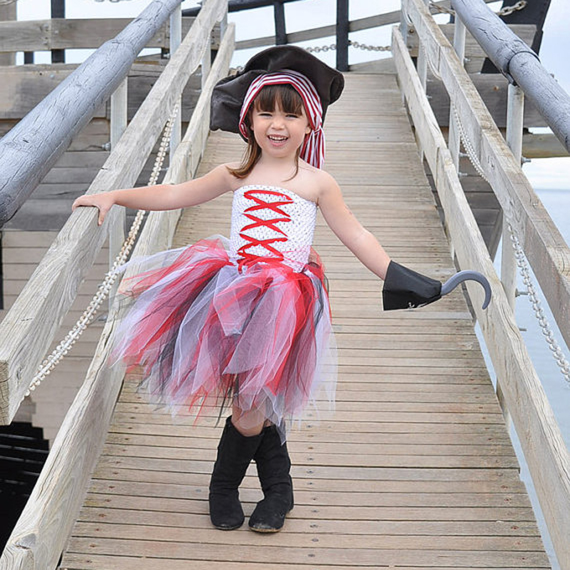 Children Girl Tutu Costume Pirate Design Tutu Dress Girl Halloween Party Photography Clothing Kids Summer Tulle Tutu Girl Dress-in Dresses from Mother ...  sc 1 st  AliExpress.com & Children Girl Tutu Costume Pirate Design Tutu Dress Girl Halloween ...