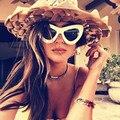 Новый Негабаритных Cat Eye Солнцезащитные Очки Женщины Моды Сексуальные Старинные Марки Дизайнер Солнцезащитных Очков Cateye Открытый Женский Очки UV400