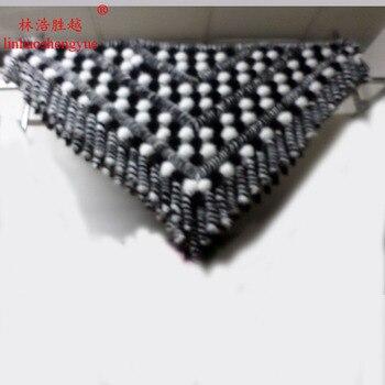 Linhaoshengyue The new 2014 mink shawl