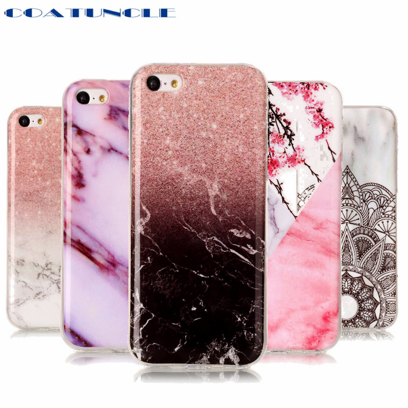 COATUNCLE Marble Stone Case sFor <font><b>Coque</b></font> <font><b>Apple</b></font> iPhone <font><b>5C</b></font> Soft TPU Rubber Back Cover <font><b>Phone</b></font> Case For <font><b>Apple</b></font> iPhone <font><b>5C</b></font> Cover