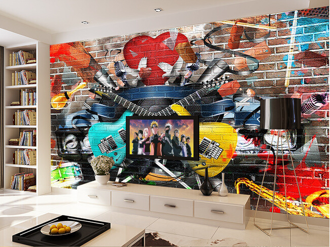 online kaufen gro handel musik graffiti aus china musik graffiti gro h ndler. Black Bedroom Furniture Sets. Home Design Ideas