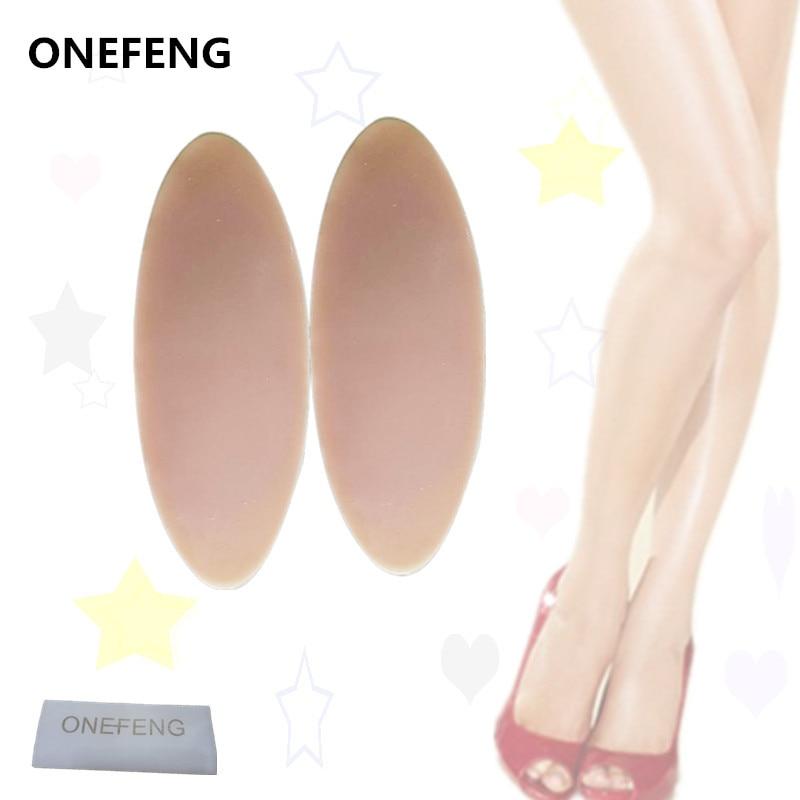 ONEFENG silicona pierna Onlays silicona pantorrilla almohadillas para piernas torcidas o delgadas cuerpo belleza fábrica suministro directo pierna Silicona