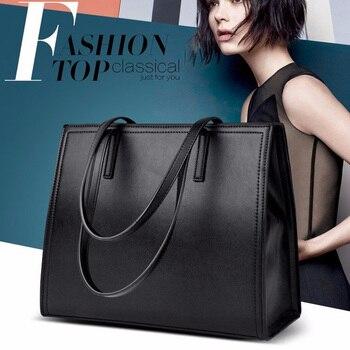 RoyaDong 2018 New Pu Leather Handbags Big Women Bag High Quality Casual Female Bags Tote Brand Shoulder Bag Ladies Large Bolsos grande bolsas femininas de couro