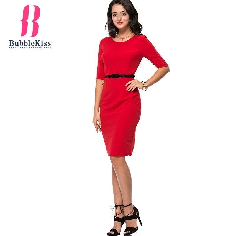 женское платье летние офисные платья bodycon красный платья для женщин сексуальная о средства ухода за кожей шеи пляж половина рукава, повязки платье с поясом платье женщины vestidos роковой