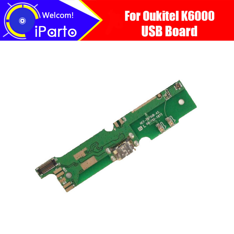 5.5Oukitel K6000 USB Board 100% Original New USB Board Charging Replacement Assembly Repairing Part Accessories for K6000.