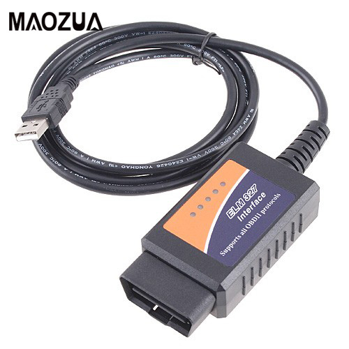 ELM327 USB Interface OBD2 Connecteur ELM 327 V 1.5 OBD 2 V1.5 Auto Scanner Automotivo Voiture De Diagnostic ELM-327