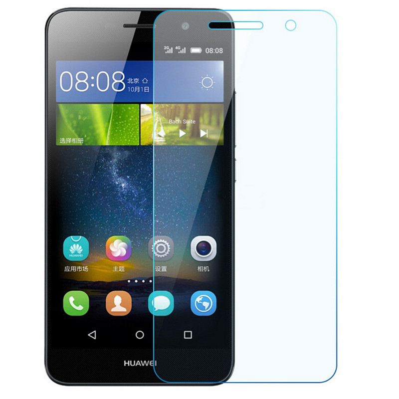 Tempered Glass For <font><b>Huawei</b></font> Enjoy 5 5S 6 6S 7 7S Plus <font><b>GR3</b></font> <font><b>2017</b></font> <font><b>Screen</b></font> Protector Protective Film image