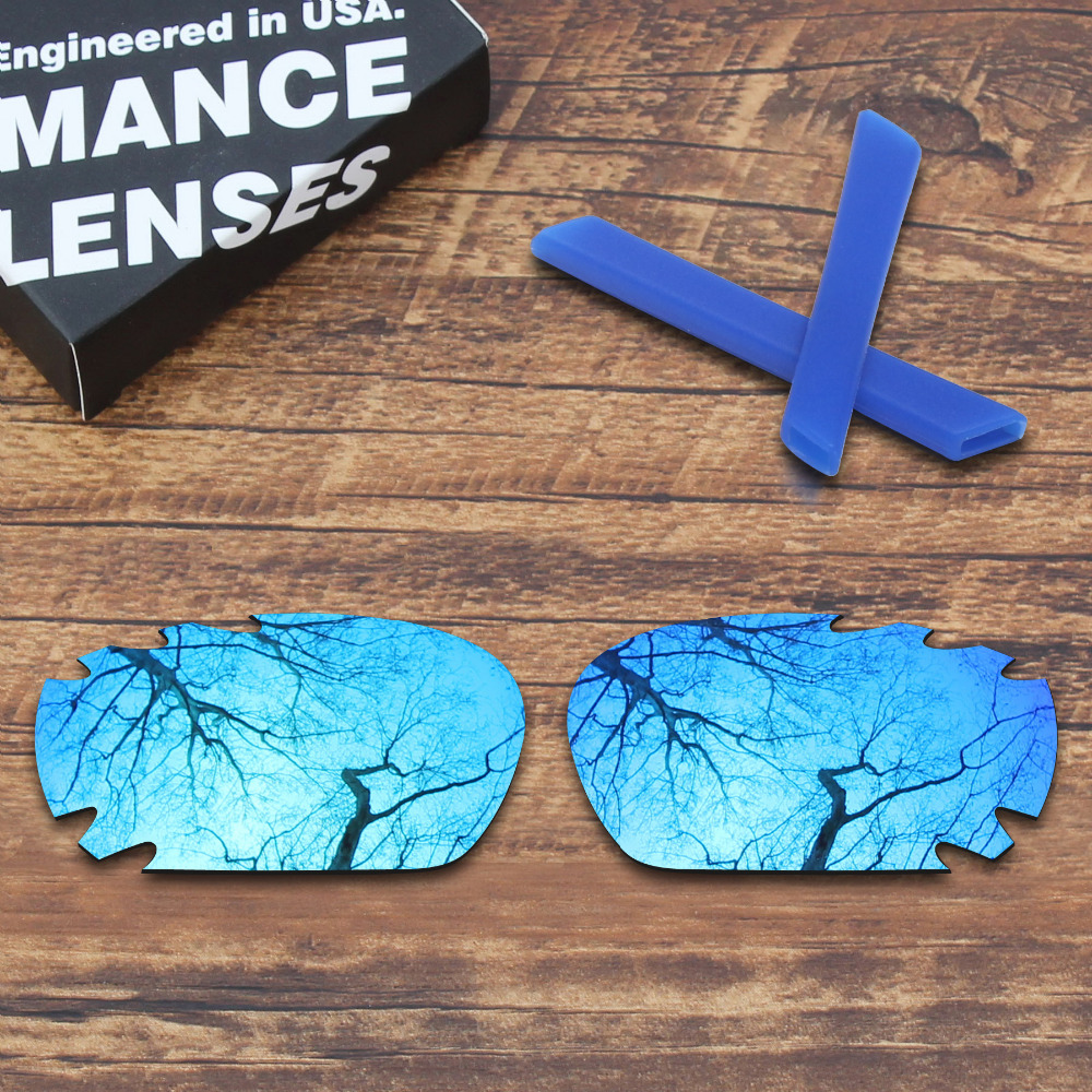 ToughAsNails Polarized Replacement Lenses Blue Ear Socks for Oakley Jawbone Vented Sunglasses Multiple Options in Eyewear Accessories from Apparel Accessories