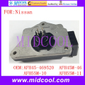 New Mass Air Flow Sensor use OE No. AFH45-469520 , AFH45M-46 , AFH55M-10 , AFH55M-11 for Nissan