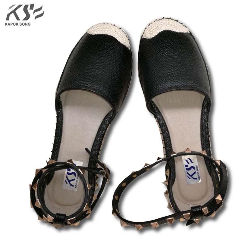 espadrilles shoes women genunie leather luxury designer shoes fisherman really lambskin flat summer espadrilles brand women etro floral print espadrilles