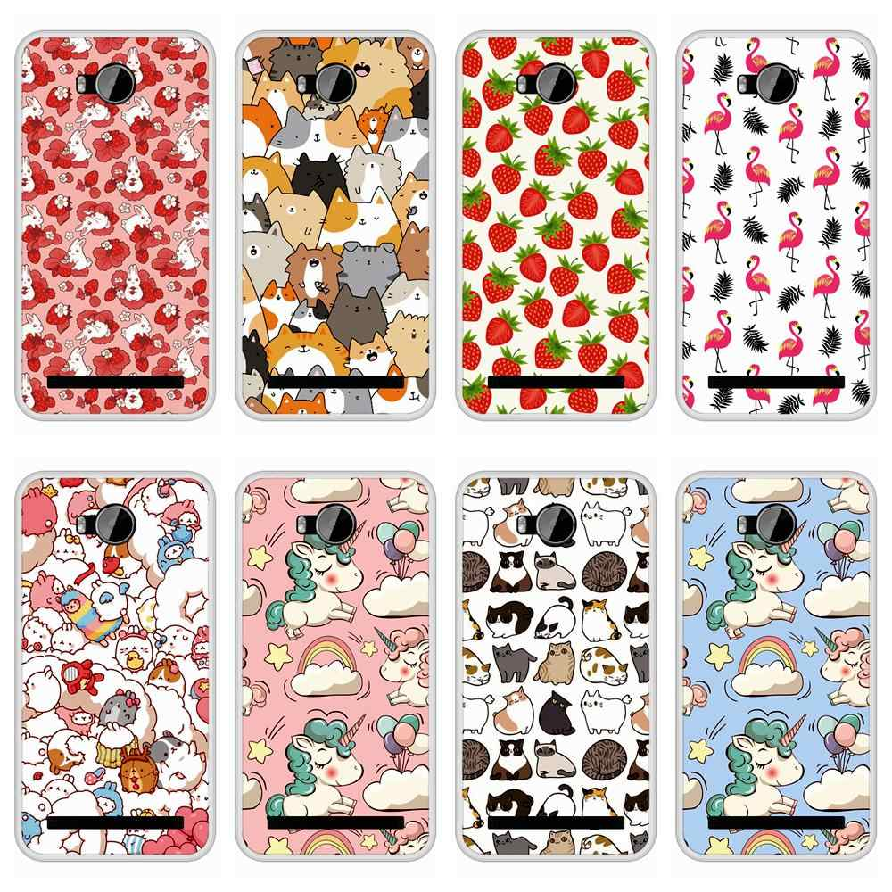 Case for Huawei Y3II Y3 II Soft Silicone TPU Cute Patterned Print for Huawei Y 3 II Y3 2 LUA L21 Phone Case Cover