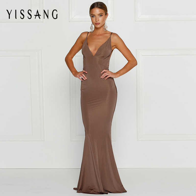 6644f8146d Detail Feedback Questions about Yissang Sexy Elegant Club Maxi ...