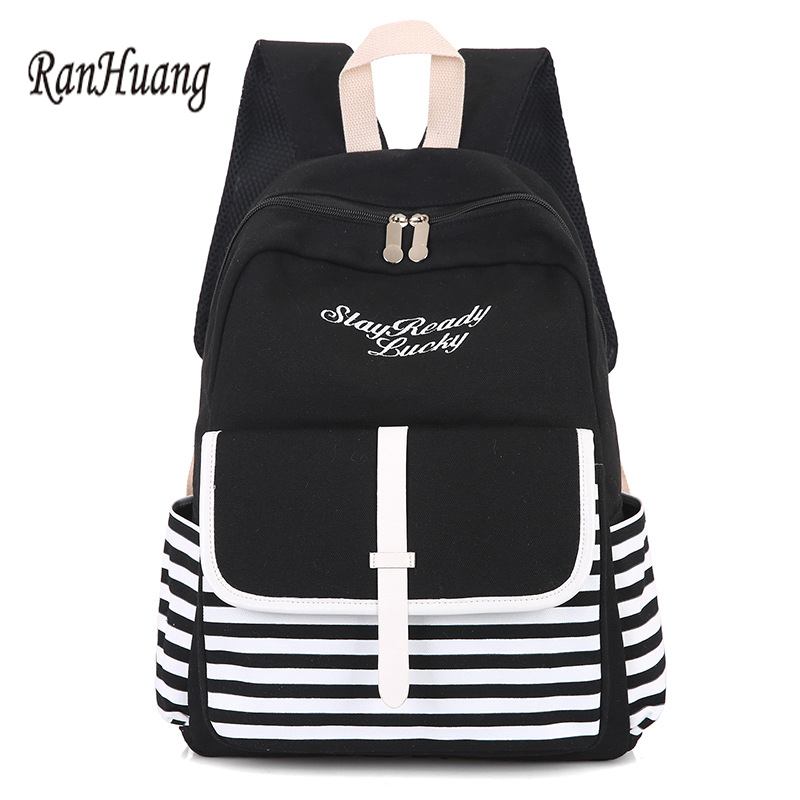 644a8b279cc5 Fashion School Backpacks for Teenage Girls Canvas Women Laptop Back Pack  Female Cute Japan and Korean Style Backpack Travel Bags