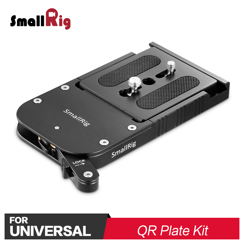 SmallRig Camcorder Touch and Go Quick Release Kit for Mini Euro Camera Plate Like for Sachtler