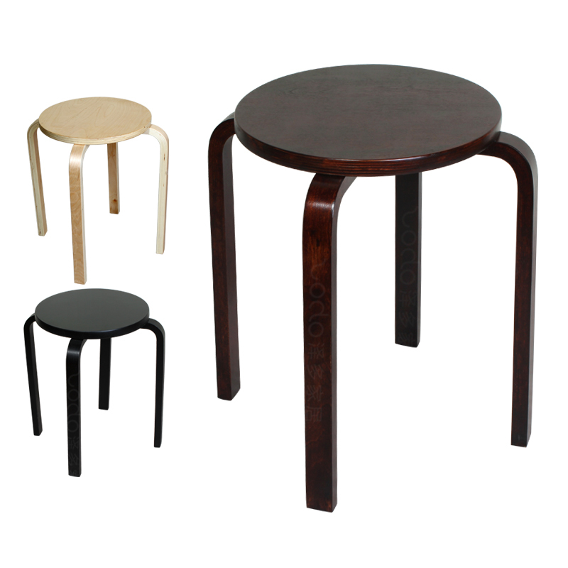 Beau Stool / Stool Wooden Stool Dining Stool / Black / Wood / Brown Solid Wood  Pile Stacked Fashion Creative / Ze Multi IKEA On Aliexpress.com | Alibaba  Group