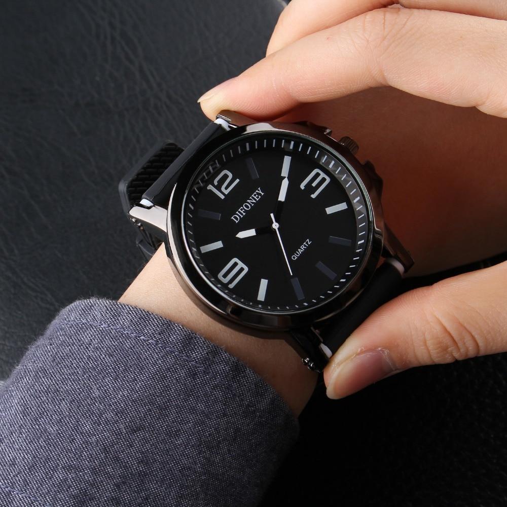 2019 DIFONEY Marca de moda Reloj deportivo Hombres Reloj analógico - Relojes para hombres - foto 1