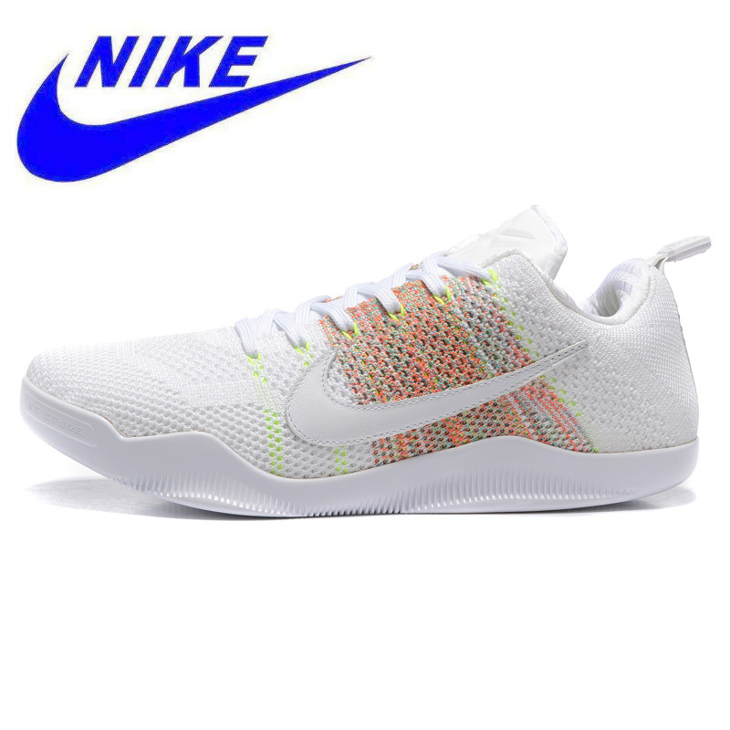 free shipping 8ae57 6ff30 Breathable Wear Resistant Nike Kobe 11 Elite Low 4KB Men s Basketb Shoes  ,Outdoor Sneakers Shoes,White,Shock Absorbed 824463 199