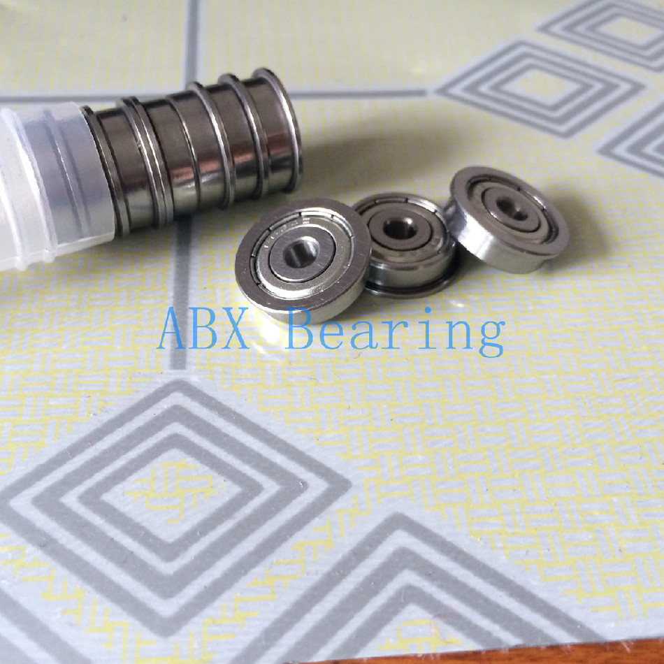 Free Shipping 10 PCS FR133ZZ FR133 Flange Bearings 3/32 x 3/16 x 3/32 inch Flanged Ball Bearings RIF-3332ZZ ABEC5 free shipping 10 pcs mf74zz flanged bearings 4x7x2 5 mm flange ball bearings lf 740zz