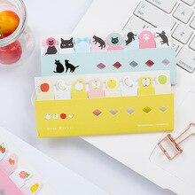 8 pcs/Lot Cartoon animal memo pad Cute penguin panda dog bird fruit sticker notes Office accessories School supplies FM730