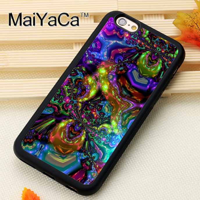 MaiYaCa Psychedelic trippy Phone Cases Accessories For iPhone 7 8 6S Plus X XS MAX XR 5 SE Soft TPU Back Cover