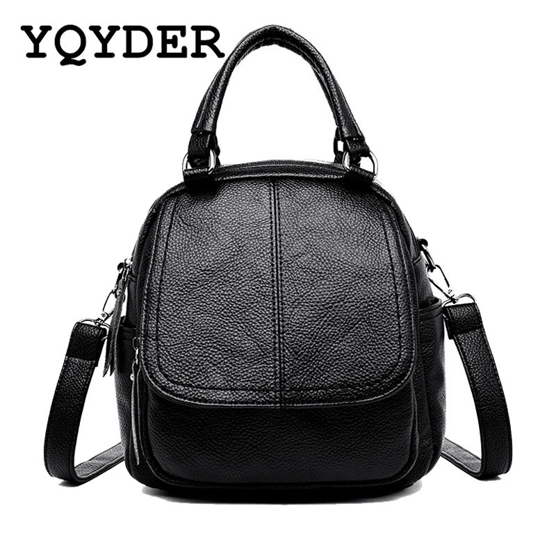 Fashion Backpack Women Leather Backpack Female Large Capacity Travel Bags School Shoulder Bags for Girls Casual Daypacks Mochila кроссовки для девочки сказка цвет темно синий r593322810 размер 27